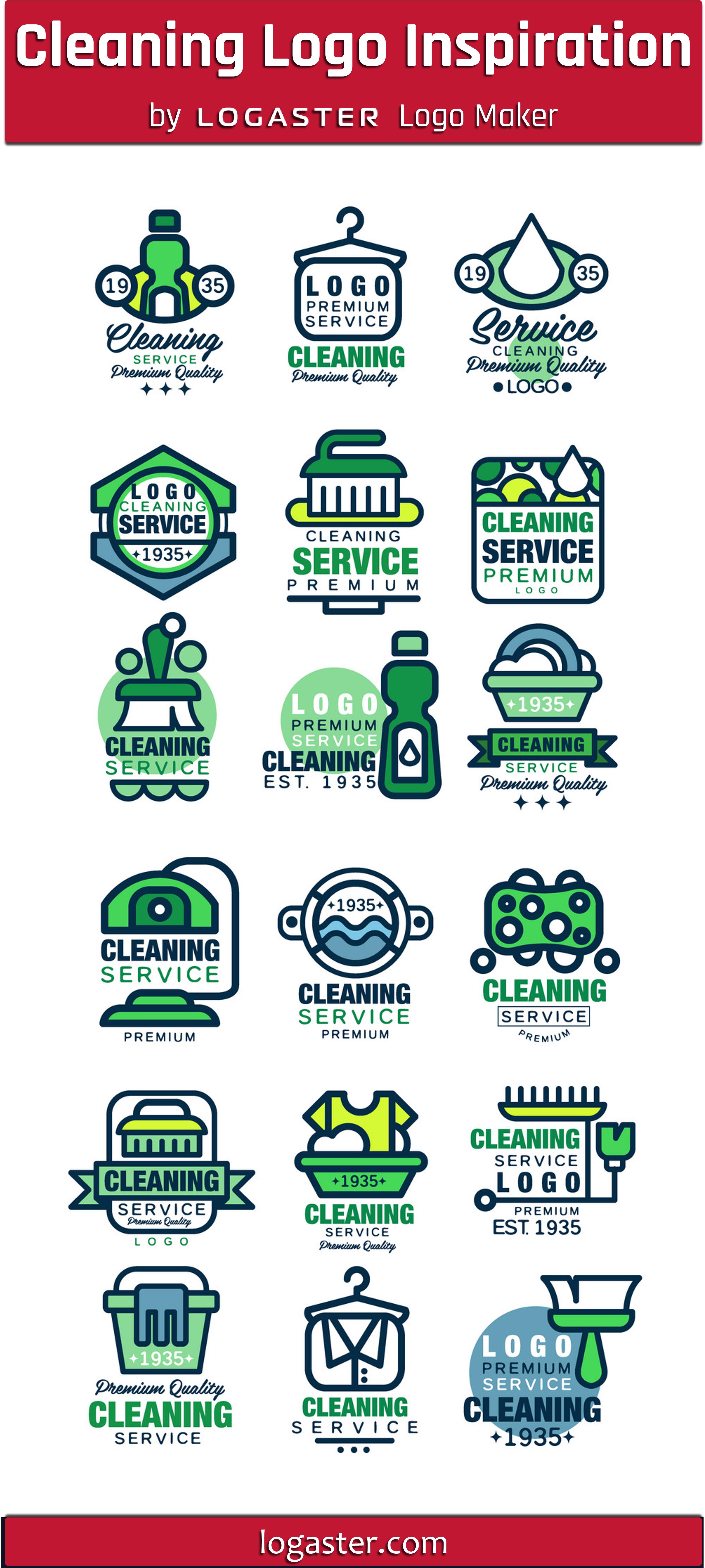 Cleaning Logo Inspiration By Logaster Logo Maker Cleaning Logo Cleaning Service Logo Clean Logo Design