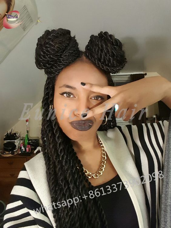2b0086ea8bb Fake Hair Havana Twist African Hair Braiding Curly Crochet Hair Extensions  Sexy Hairstyles Synthetic Havana Mambo Twist Wavy