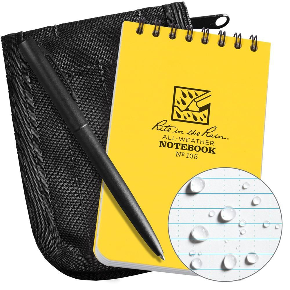 Rite In The Rain All Weather 3 In X 5 In Top Spiral Notebook Kit