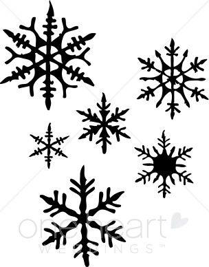 snowflake images clip art google search svg s pinterest rh pinterest com clipart of snowflakes falling free clipart pictures of snowflakes