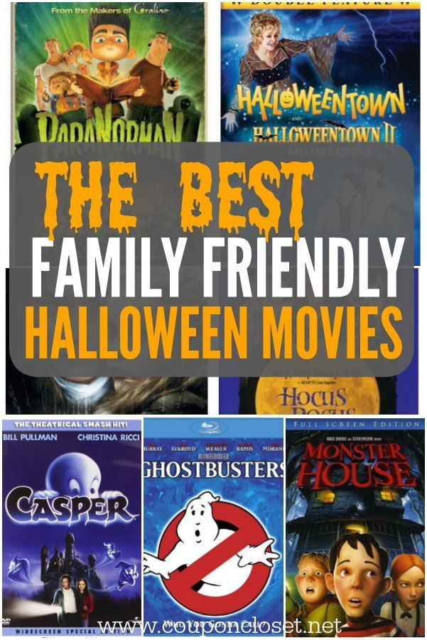 here is a huge list of family halloween movies that the entire family can joy
