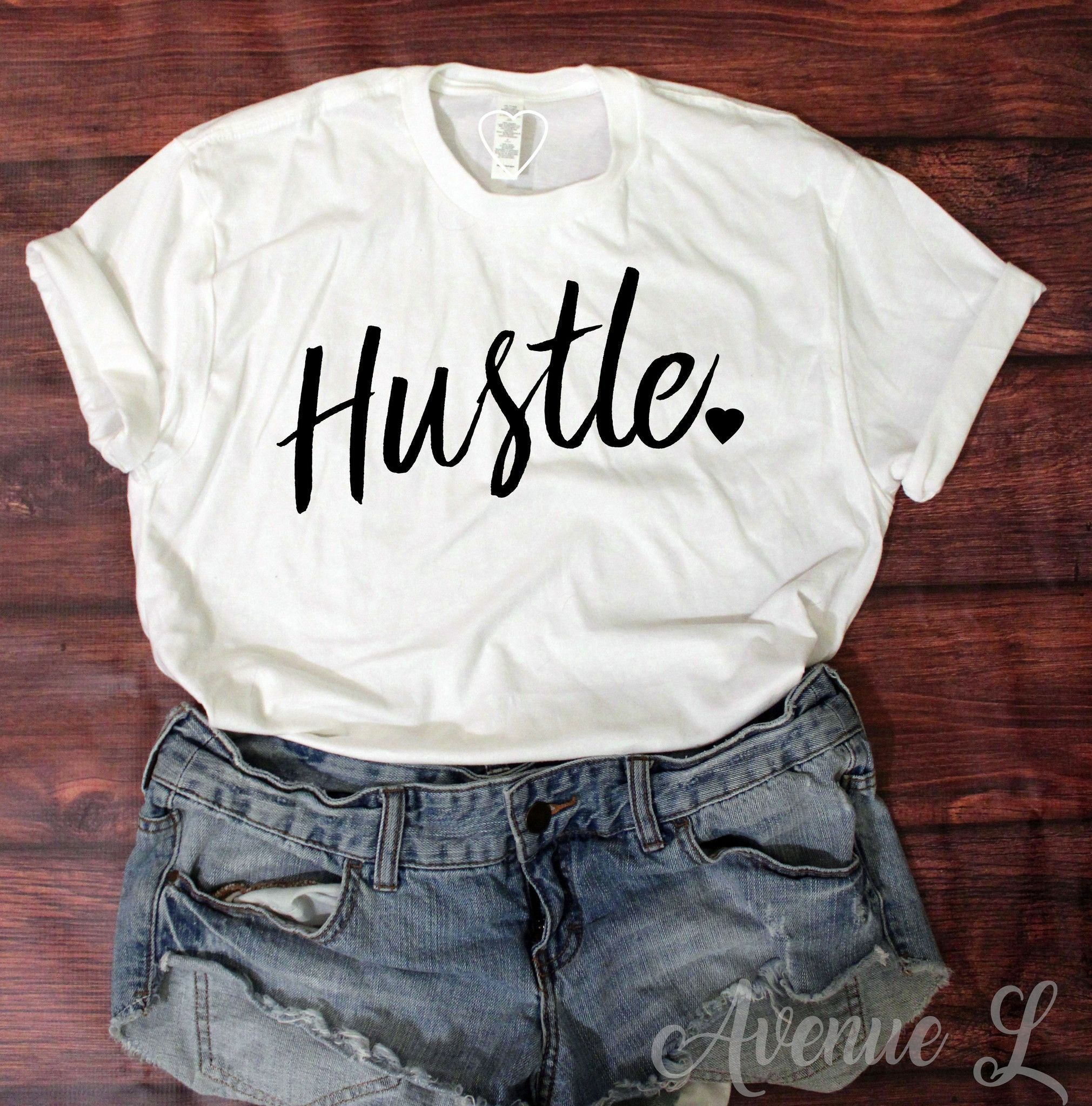 Hustle tee graphic tee outfits graphic tees vintage