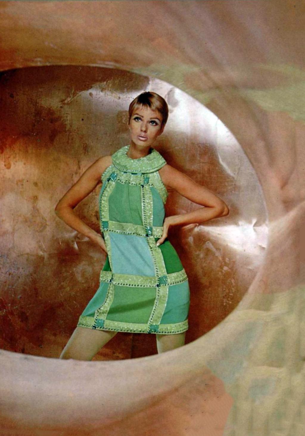 new high newest most popular Pierre Cardin. L'Officiel magazine 1967 | 1960s Fashion ...