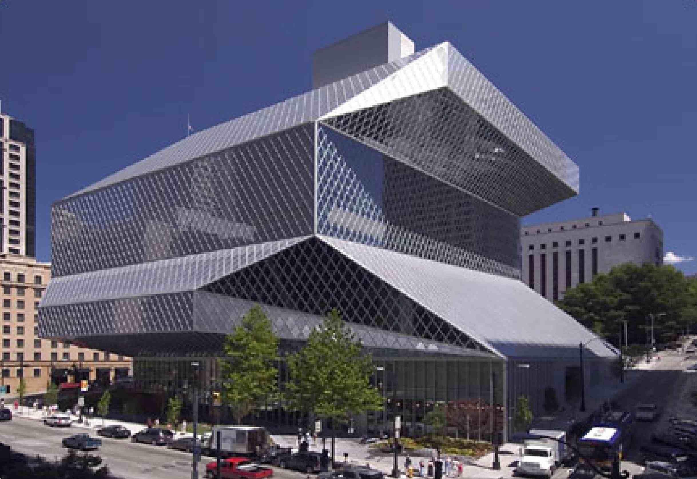 Seattle Public Library (Biblioteca Pública de Seattle)