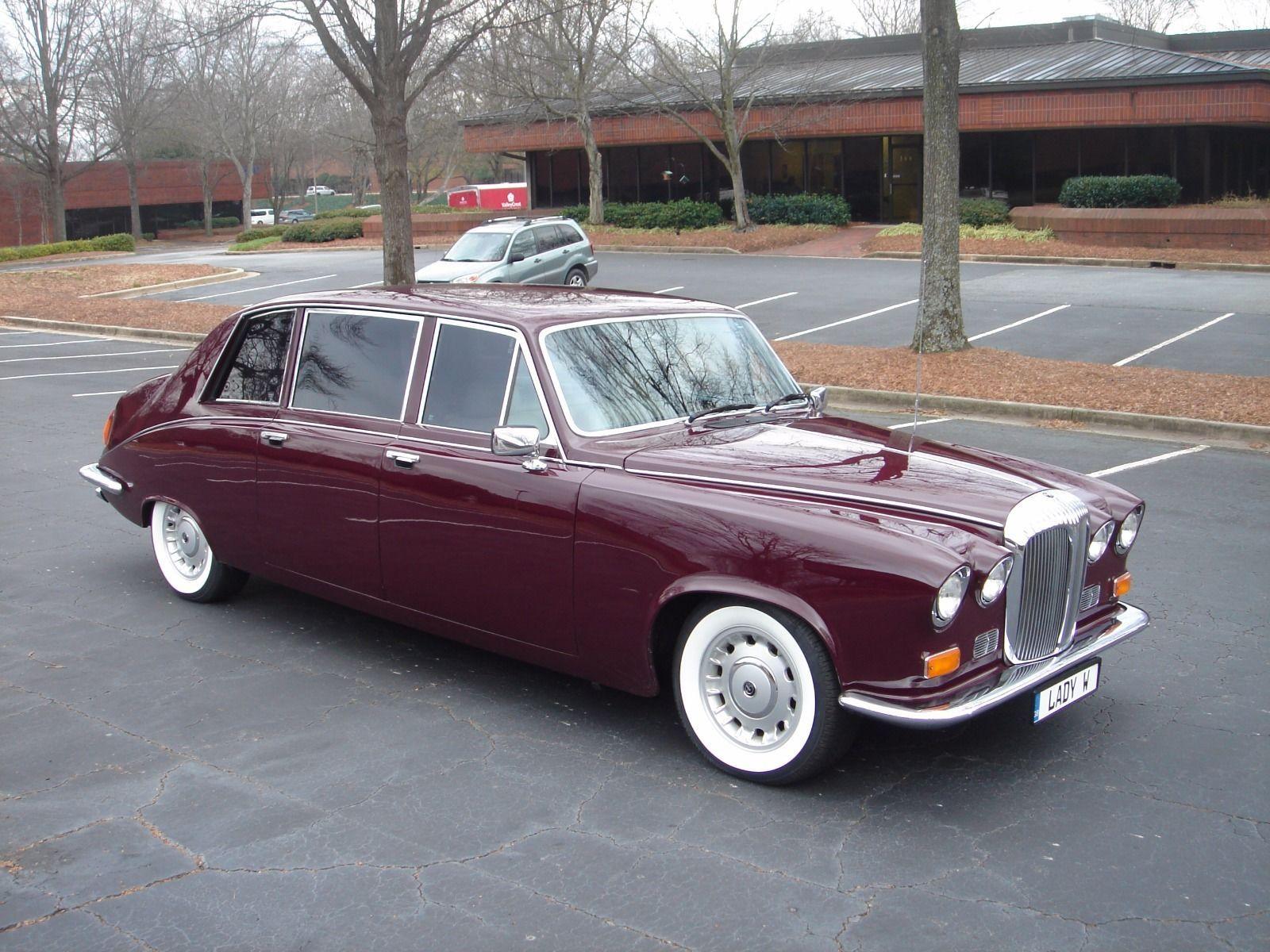 1985 Jaguar Daimler Ds420 Limousine The Only Us Spec Daimler