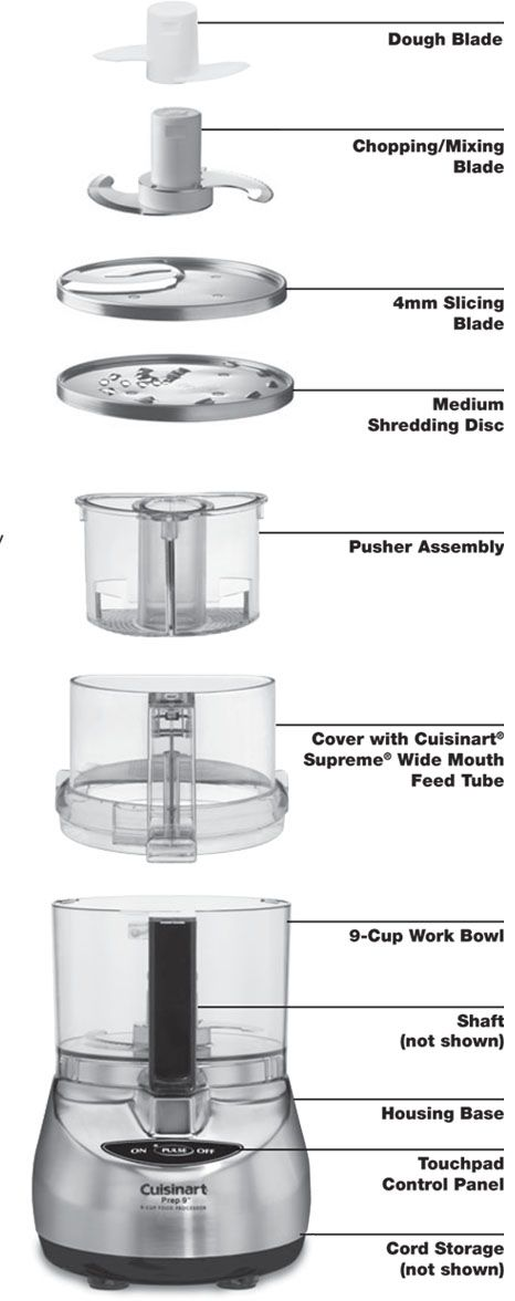 Cuisinart Food Processor: How to Assemble