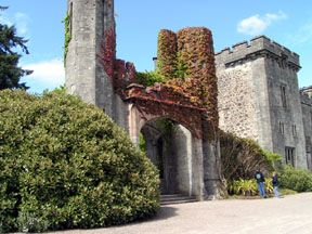 The Clan MacDonald Castle, on the Isle of Skye.