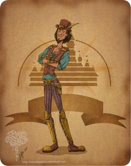 Steampunk Clopin (my favourite, always forgotten, villian)
