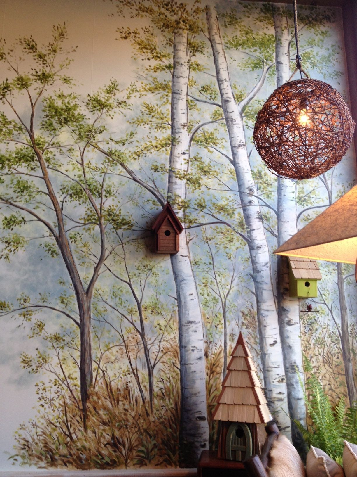 Country wall murals choice image home wall decoration ideas painted wall mural trees google search school library ideas painted wall mural trees google search amipublicfo amipublicfo Images