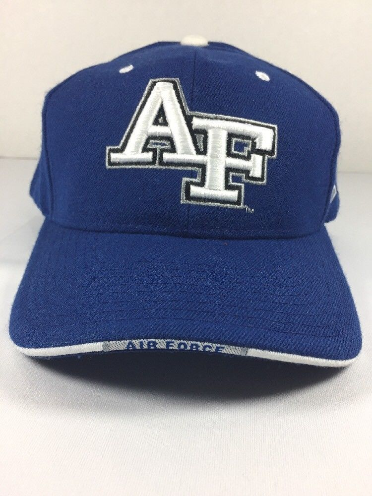 Ncaa Air Force Academy Falcons Hat Nwot Zephyr Adjustable Baseball Cap Ebay Air Force Air Force Academy Baseball Cap