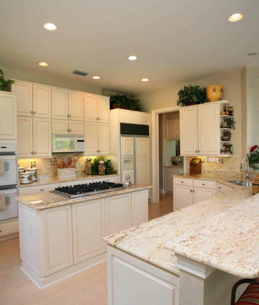 65 Kitchens with White Appliances (Photos) in 2020   White ...