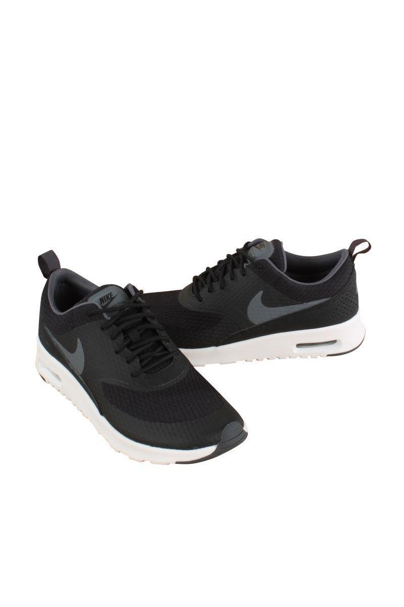 0c817c180f Nike Women Black/Dark Grey White W Air Max Thea Txt 819639-005 ...