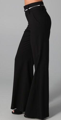 High Waist Wide Leg Trouser | Sale Picks | Pinterest | Trousers ...