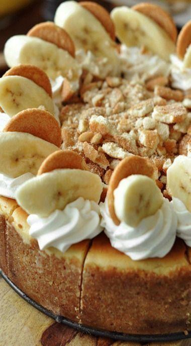 bourbon tarta de queso con leche de plátano #cheesecake