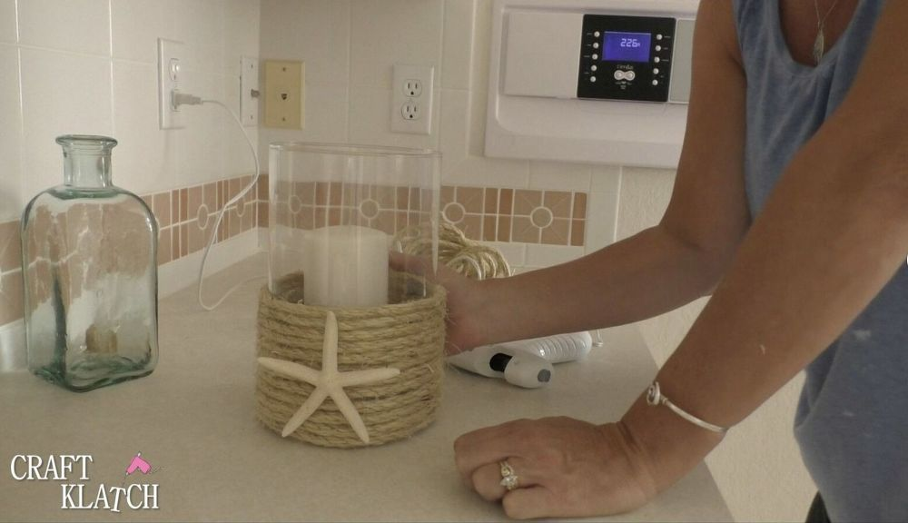 Photo of How to Make an Easy Coastal Decor Candleholder DIY