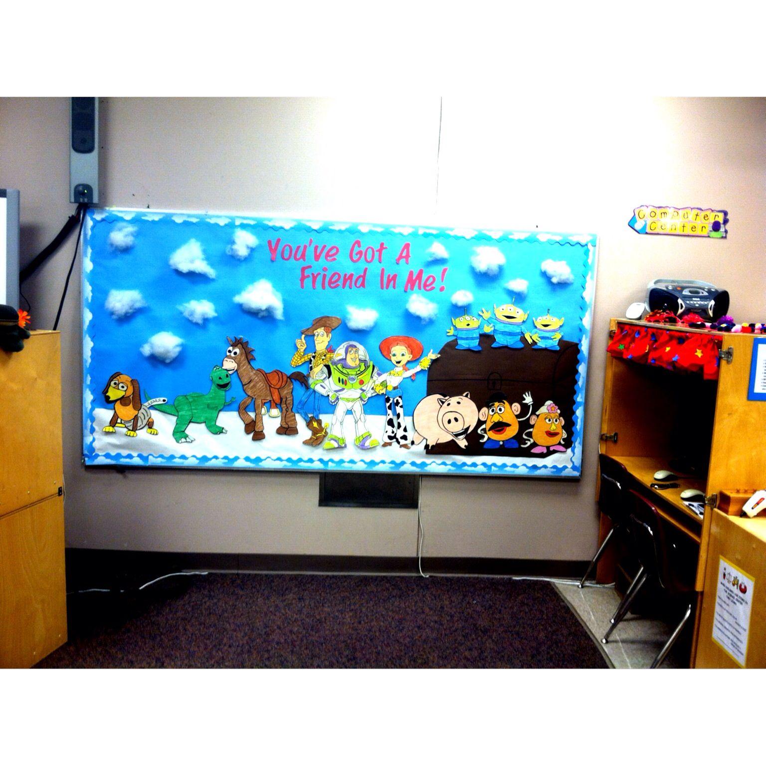 Toy Story Themed Bulletin Board