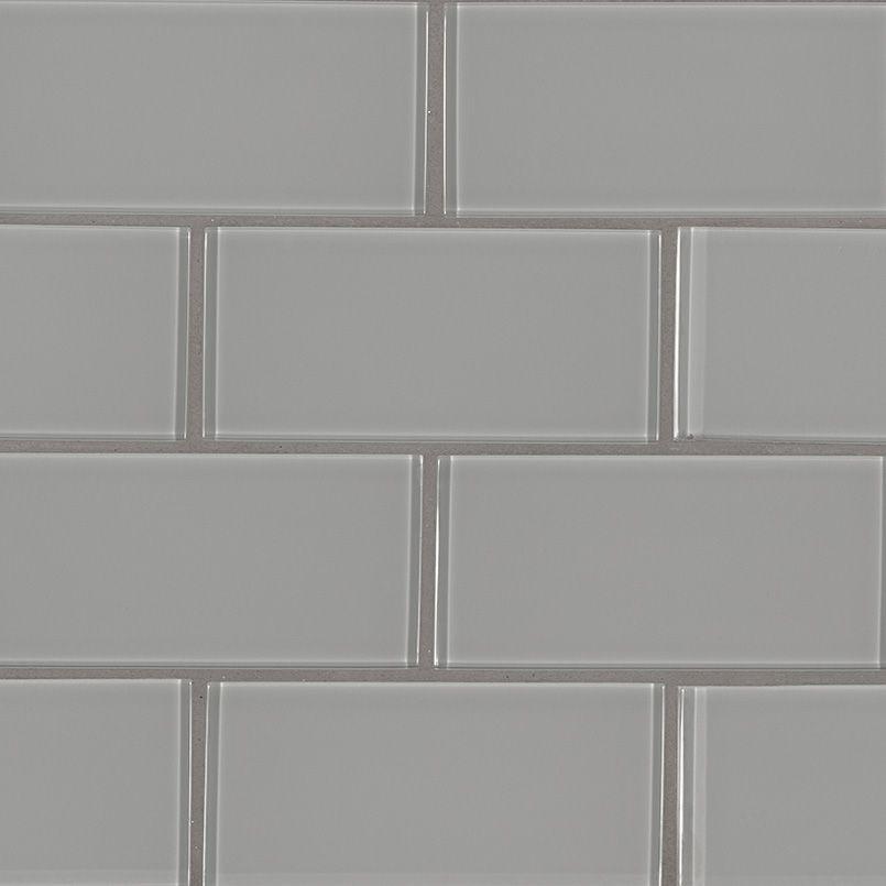 Smot Gl T Oygr36 Oyster Gray Tile 3x6x8mm Clicsubwaysize