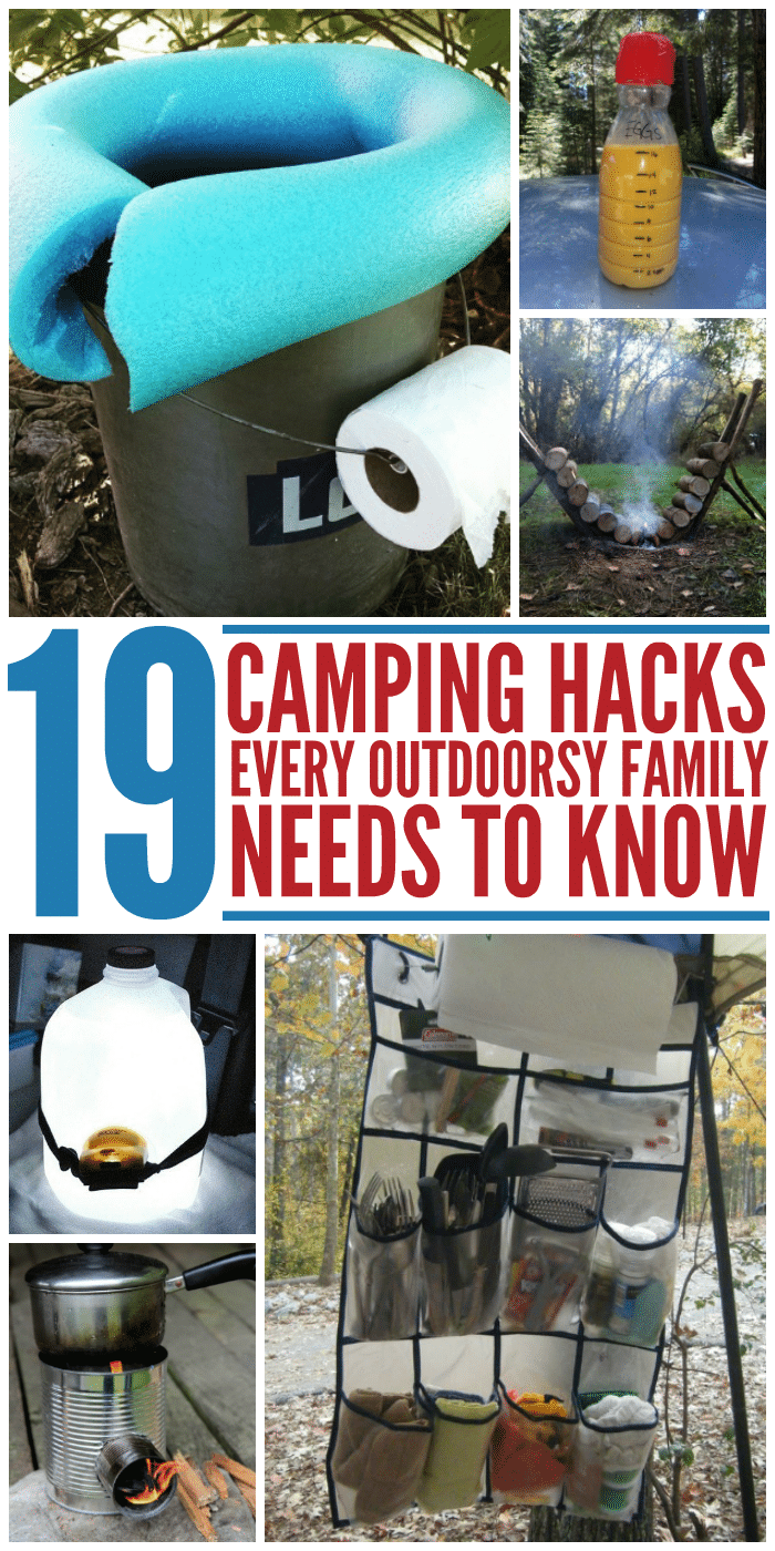 Photo of 19 Camping Hacks Every Outdoorsy Family Needs to Know – Glue Sticks and Gumdrops