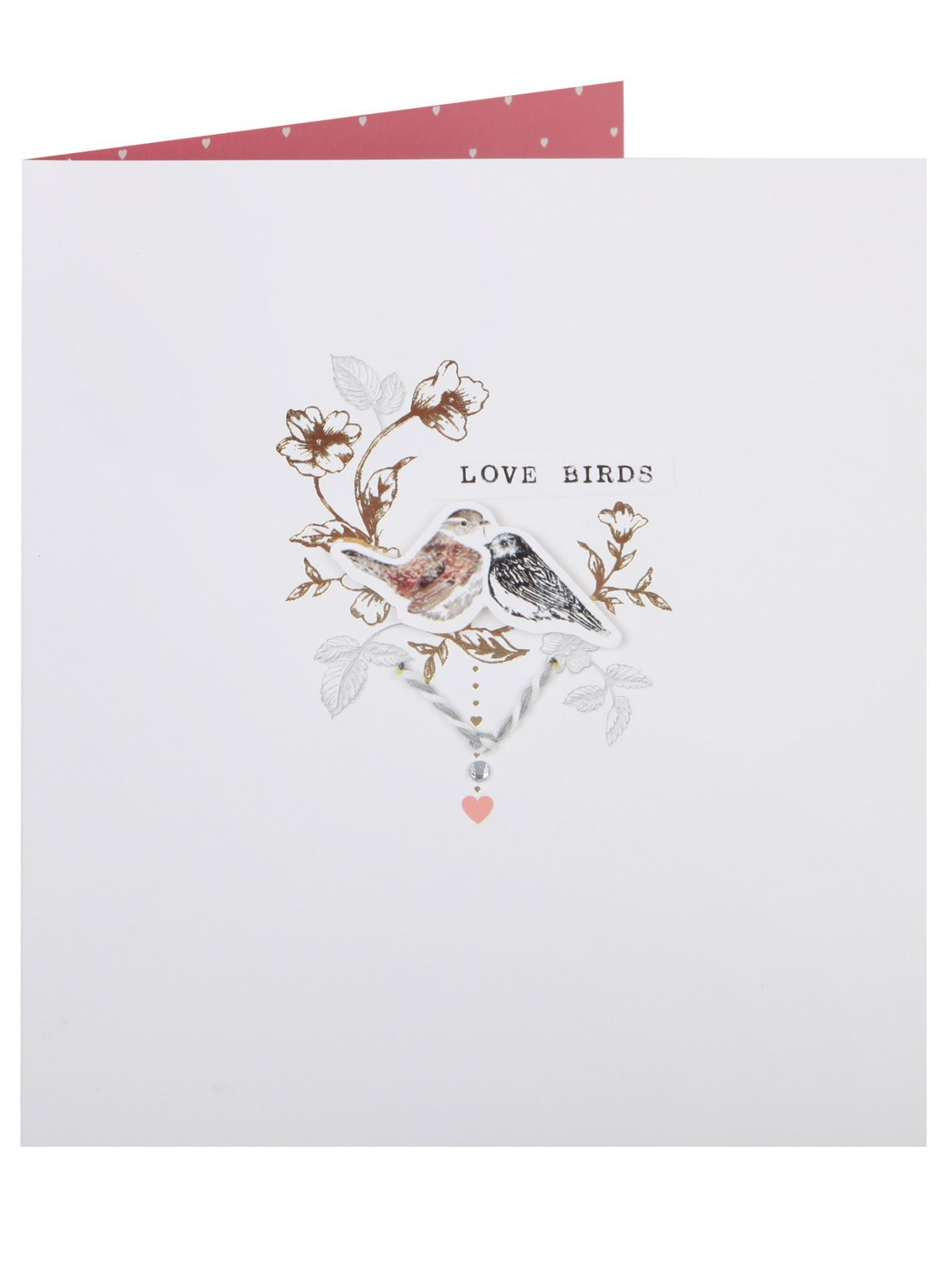 Subtle Love Birds Valentines Day Card Cards Valentines – Clintons Valentines Cards