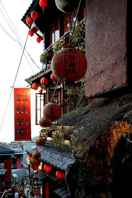 千と千尋の神隠しの世界のような台湾の街 九份 三鷹の森ジブリ美術館 幻想的 千と千尋の神隠し
