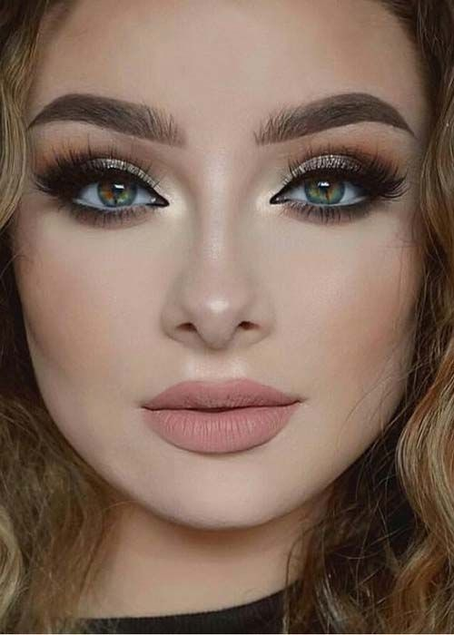 New gold make look latest makeup 2019 version