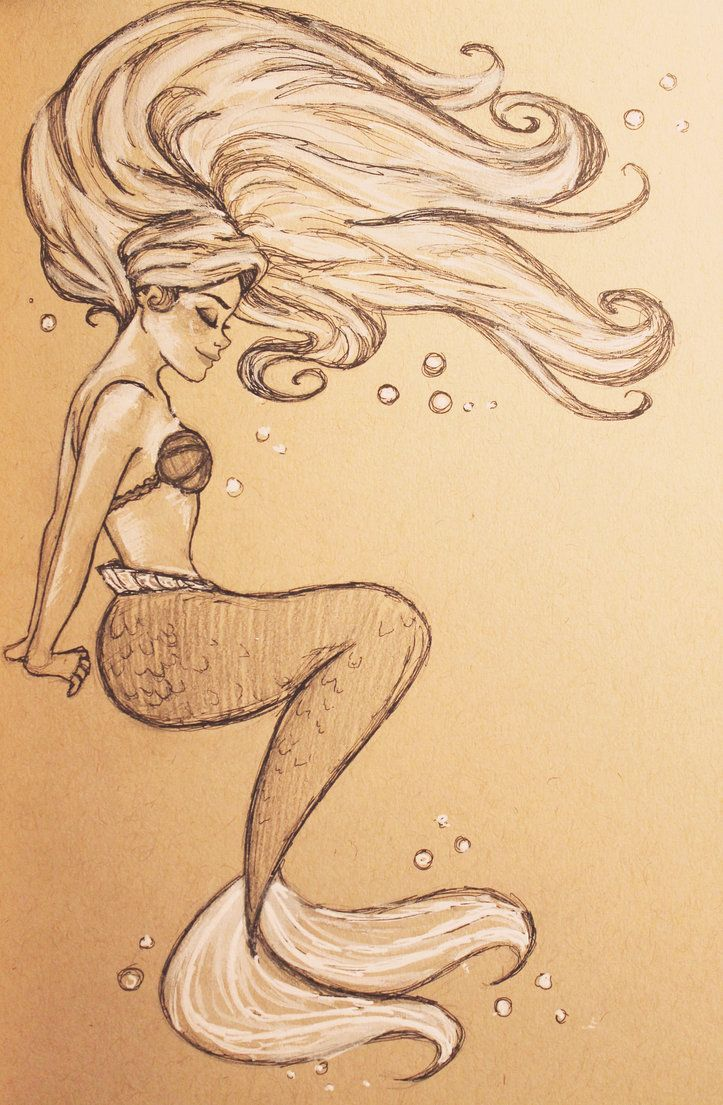 Ariel By Jennapaddey On Deviantart With Images Mermaid Art