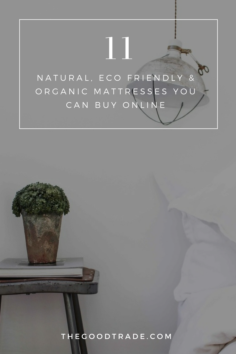 11 best natural eco friendly organic mattresses you can buy