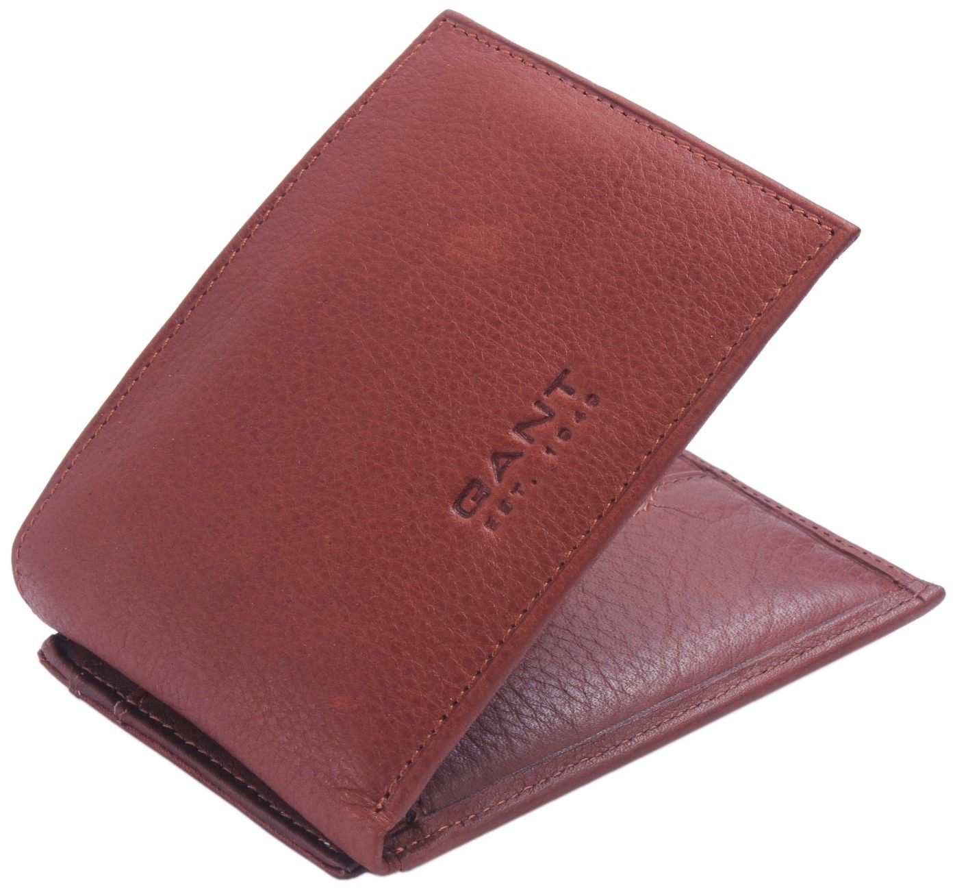 bdb7edca6a Gant Wallet - Brown Leather Wallet and Credit Card Holder #Gant #Mens # Wallet