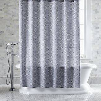 Marimekko Kioto Royal Blue Shower Curtain With Images Blue