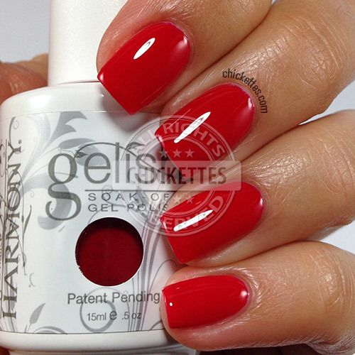 Gelish Limited Edition Holiday Colors From 2013 Red Gel Nails Gelish Nail Colours No Chip Nails