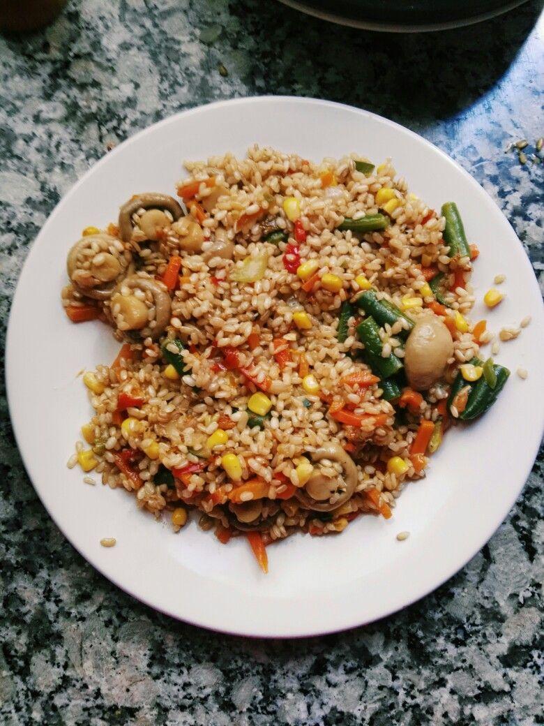 recetas saludables con arroz yamani