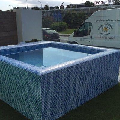 resultado de imagem para piscinas elevadas obra piscina