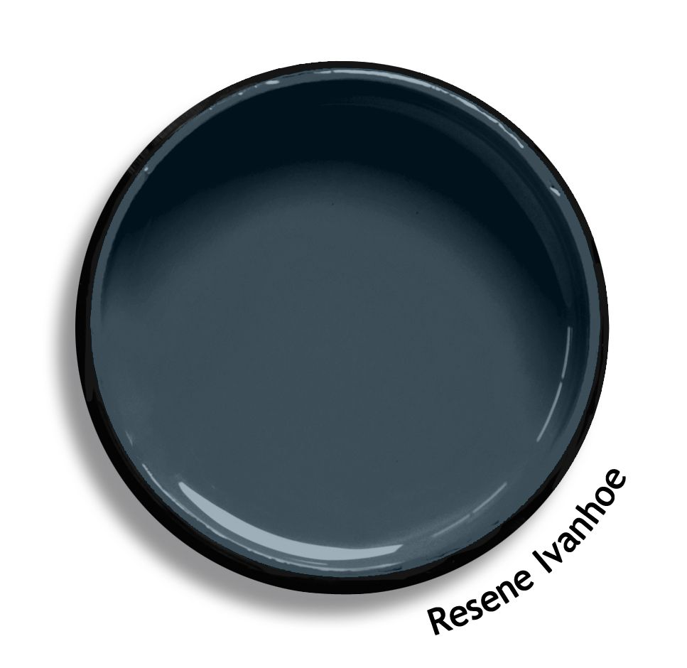 Resene Ivanhoe is a meaningful slate blue. From the Resene ...