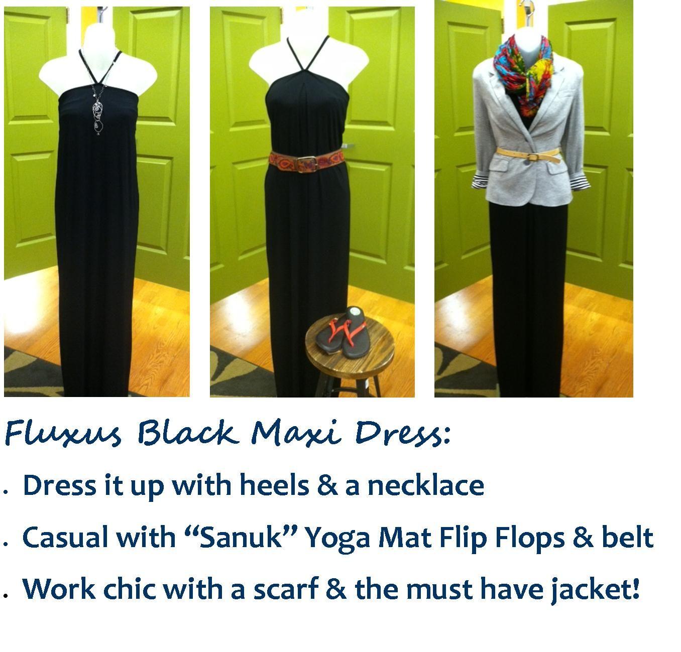 Black maxi dress ways love the soft fabric u comfort slice of