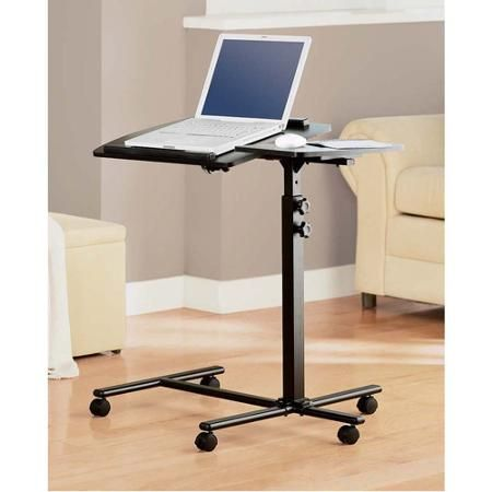 Mainstays deluxe laptop cart from walmart this is what i want for my birthday stuff i want - Computer stands at walmart ...