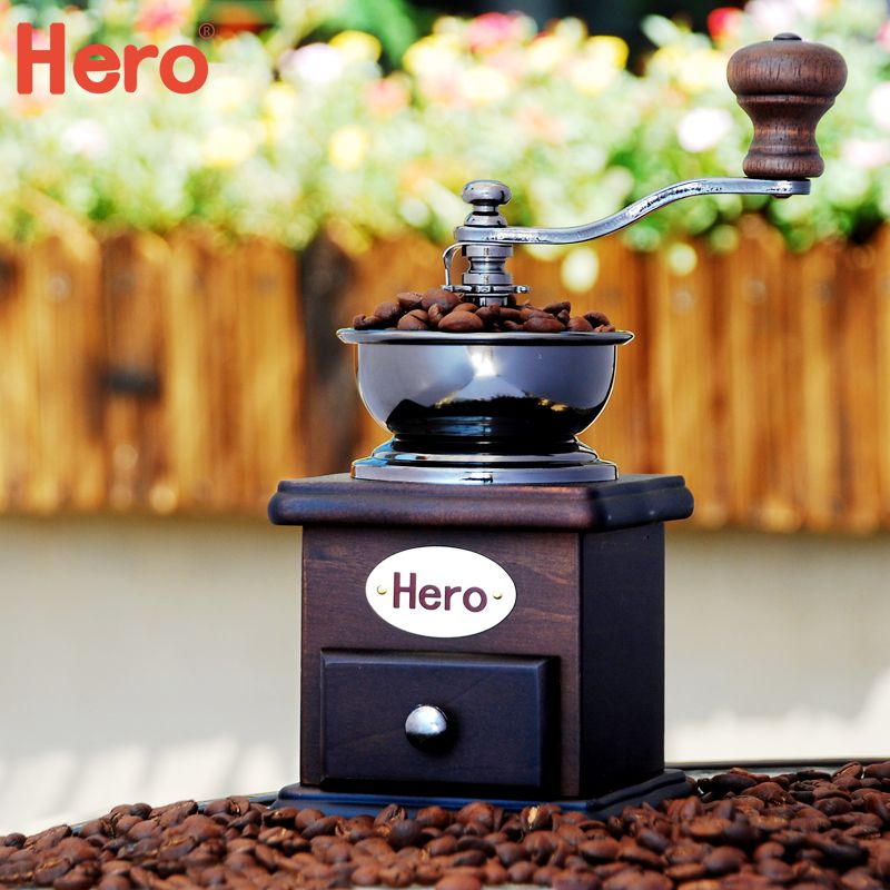 Aliexpress Com Buy Hero 2016 Manual Coffee Grinder Classical Retro Hand Coffee Mill Hot Sale Stainl Manual Coffee Grinder Coffee Grinder Stainless Steel Bowl