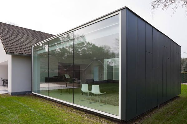Ingeniously Upgraded Single Family Home In Belgium Container Homes Cost Container House Design Container House Plans