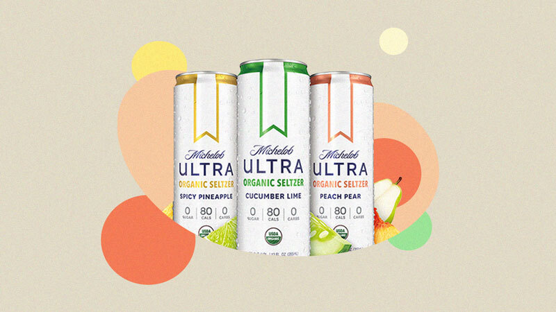 Michelob Ultra Is Releasing An Organic Hard Seltzer In 3 Flavors Hard Seltzer Michelob Ultra Seltzer