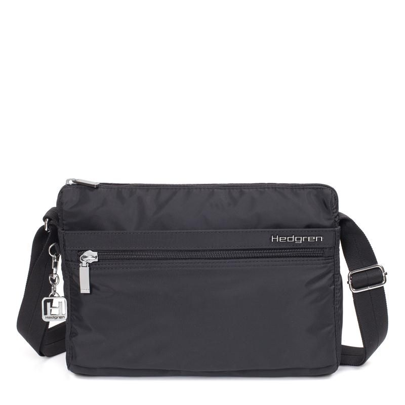 Hedgren Inner City Metropolitan Shoulder Bag Eye M black  53b6206002248