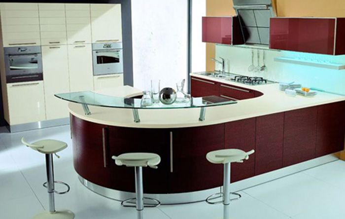 Interior Design Country Style Kitchen Picture And Round Table With Luxuri  Design