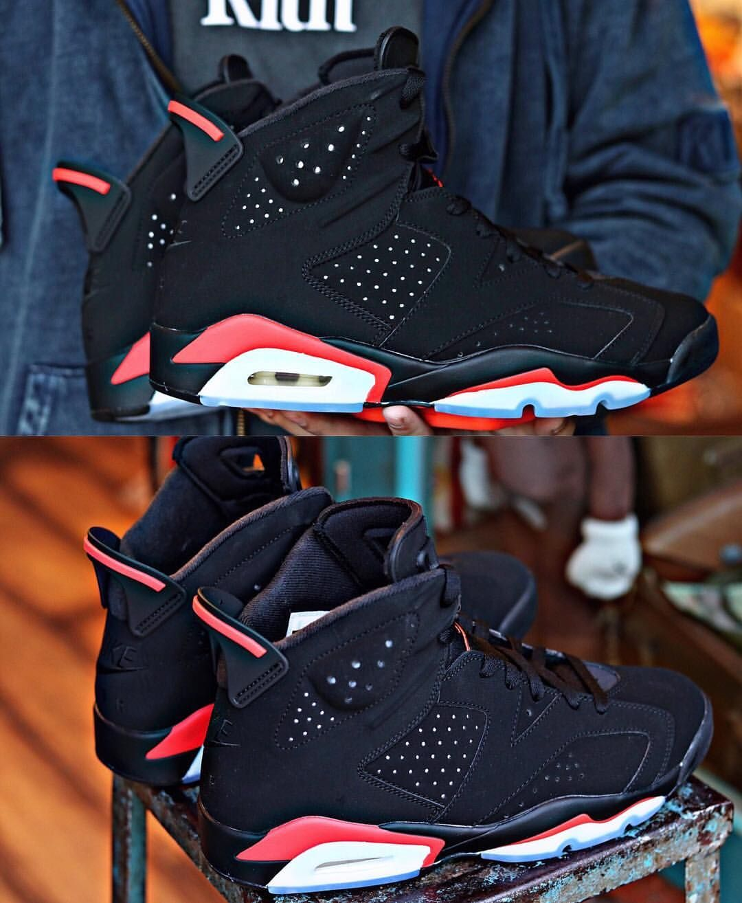 "best sneakers 0afe5 7db43 Jordan Addict on Instagram  ""Air Jordan 6 Retro ""Black Infrared"" February  16th, 2019    200  JordanAddict"""