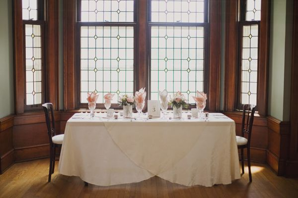 Ontario Wedding At National House Of Prayer From Genevieve Renee Photographie Wedding Guest Book Table Fancy Table Rectangle Table