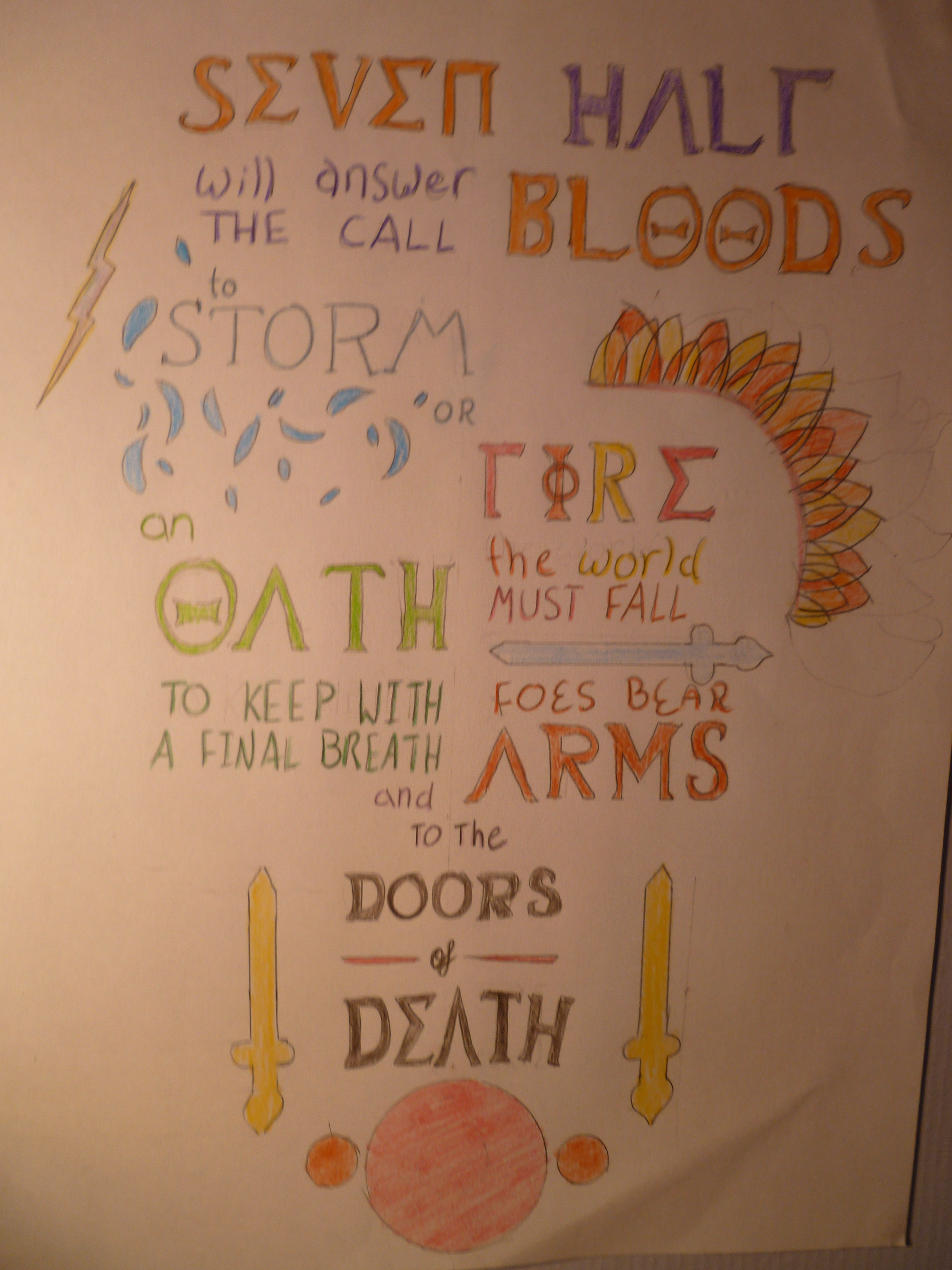 Pencil drawings by deanna west percy jackson quote