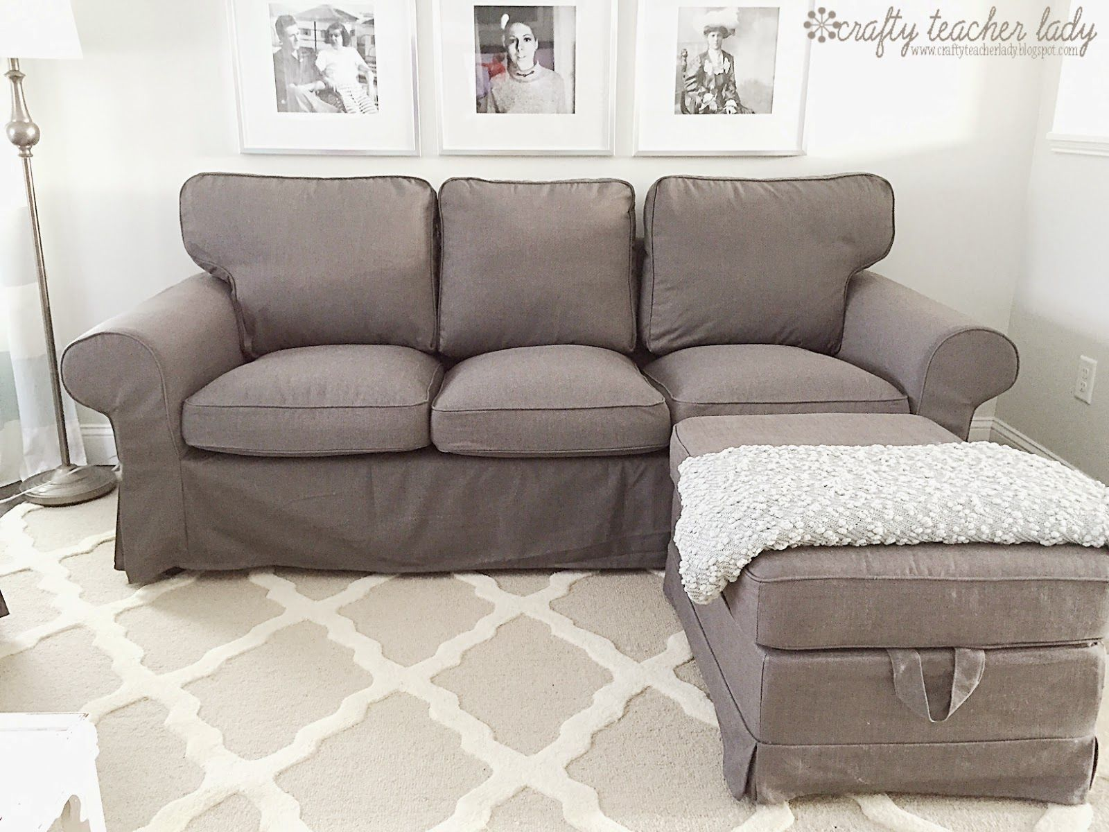 crafty teacher lady review of the ikea ektorp sofa series rh pinterest com IKEA Ektorp Sofa Decorating Ideas IKEA Ektorp Dimensions