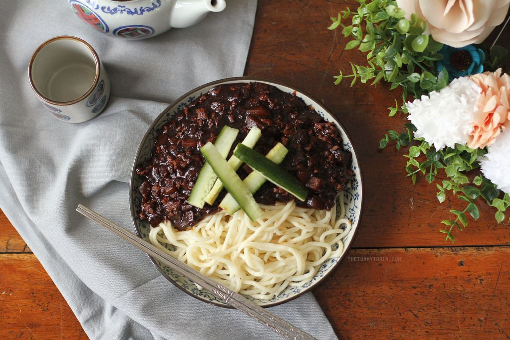 jjajangmyeon recipe two ways learn how to make this jjajangmyeon recipe two ways learn how to make this chinese korean noodle forumfinder Choice Image