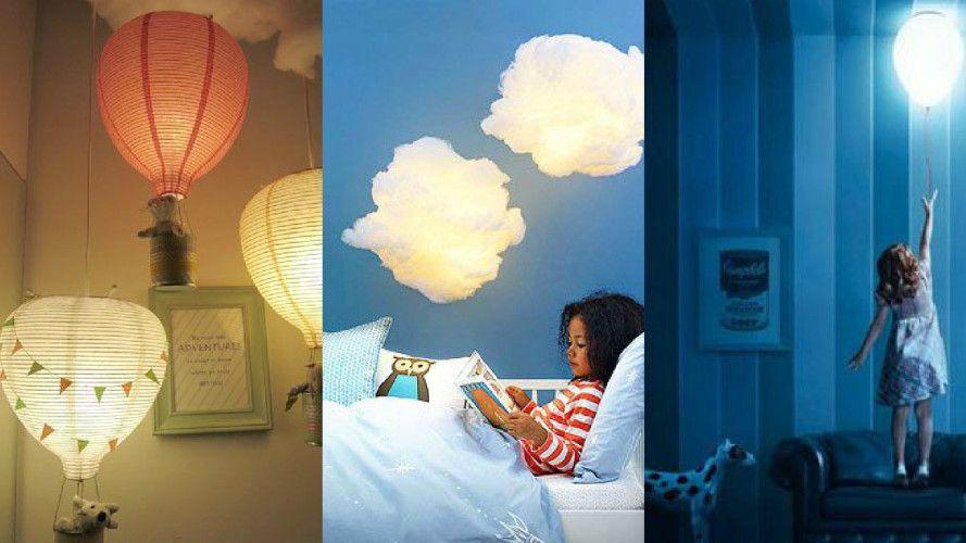 Children S Room Hanging Lamps Home Interior Design Ideas Kids Room Lighting Kid Room Decor Beauty Room Decor