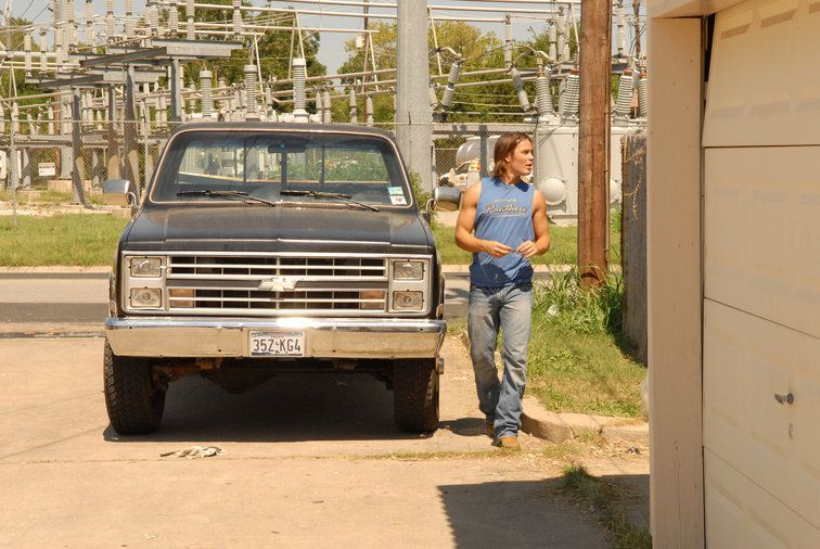 Tim and His Truck | Friday Night Lights | NBC#friday #lights #nbc #night #tim #truck