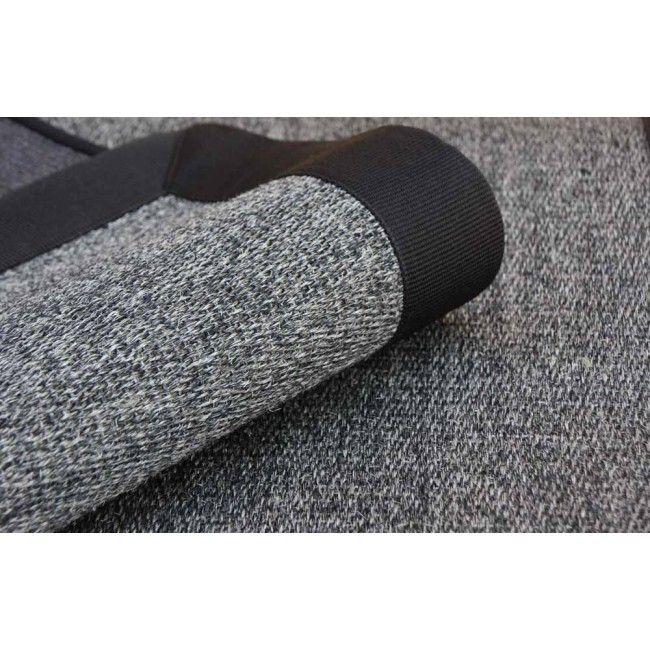 Alfombra de sisal 100 modelo ibiza color gris acabado - Alfombra sisal ...