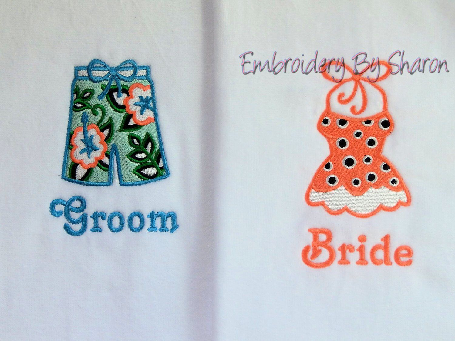 Mr And Mrs Beach Towel Bride Beach Towel Monogram Beach Towel