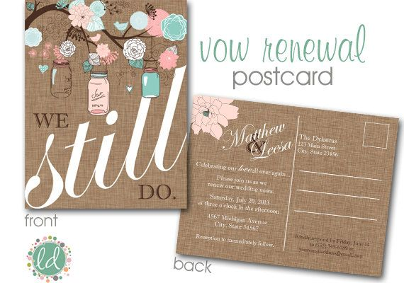 Arenu0027t these the colors we were talking about using? Etsy listing - wedding postcard